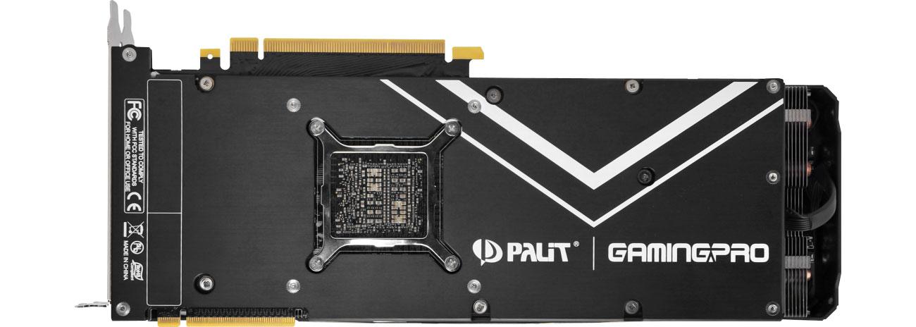 Palit GeForce RTX 2080 Ti GamingPro Backplate