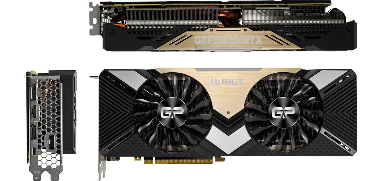 Palit GeForce RTX 2080 Ti GamingPro Chłodzenie