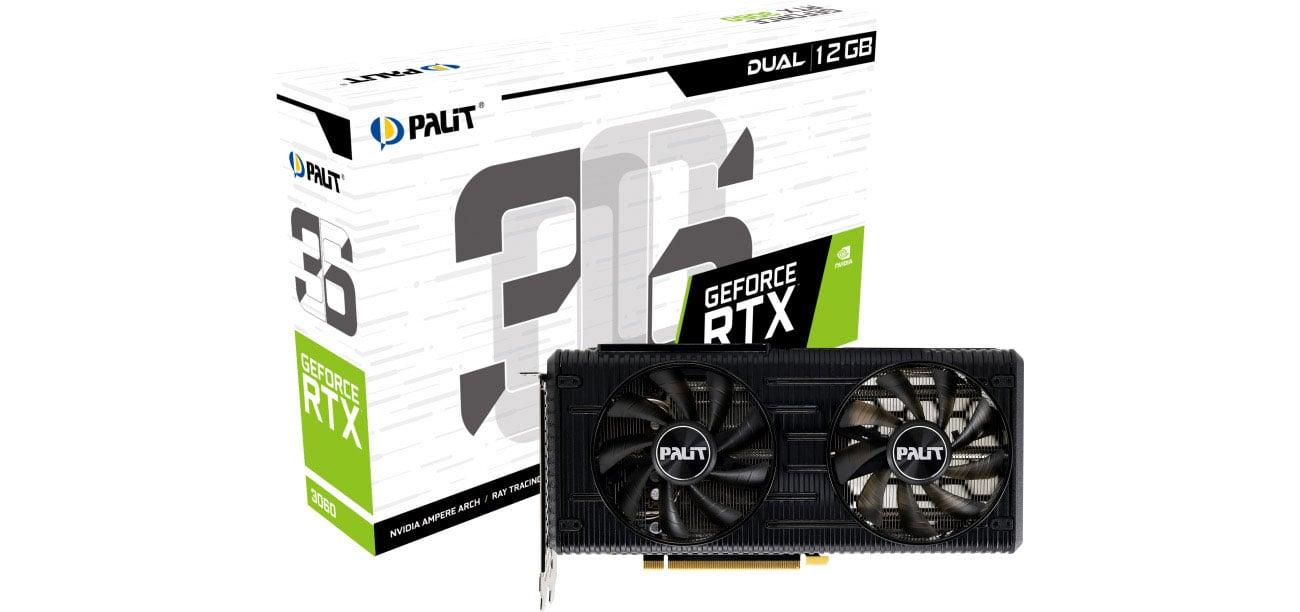 Palit GeForce RTX 3060 Dual 12GB GDDR6 NE63060019K9-190AD