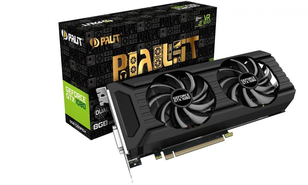 Karta graficzna Palit GeForce GTX 1080 Dual 8GB