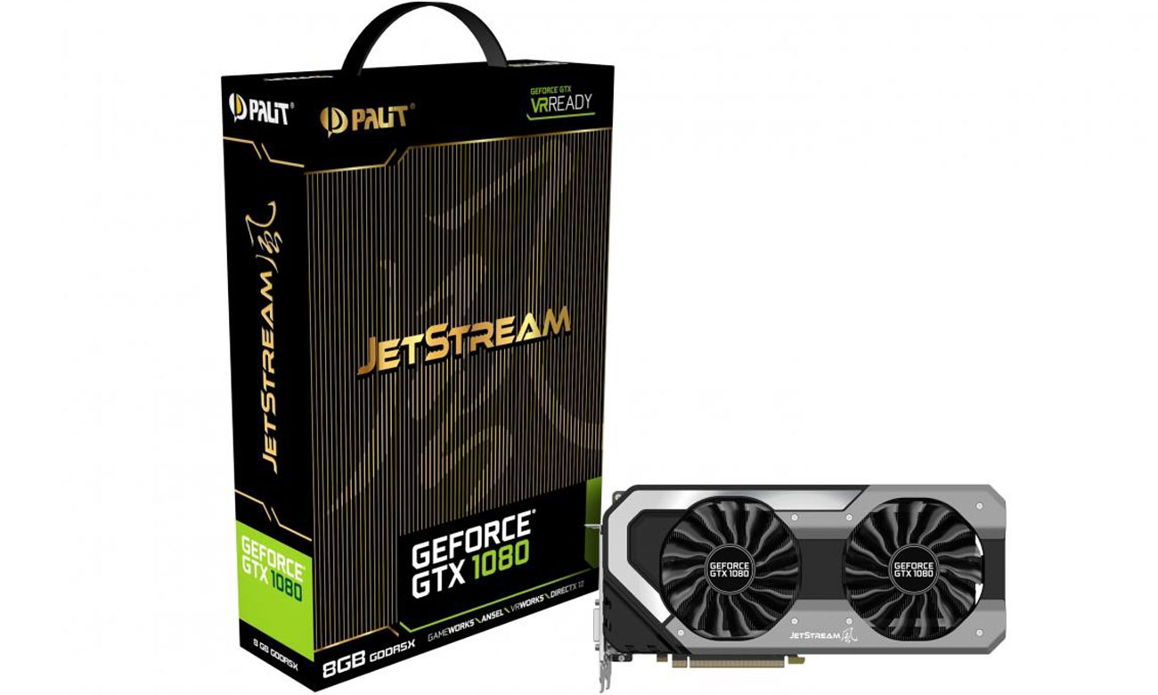 Karta graficzna Palit GeForce GTX 1080 Super JetStream 8GB