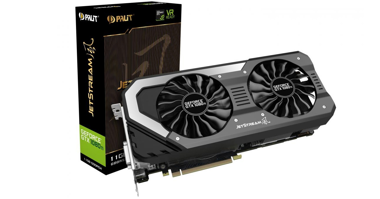 Karta graficzna Palit GeForce GTX 1080 JetStream 8GB