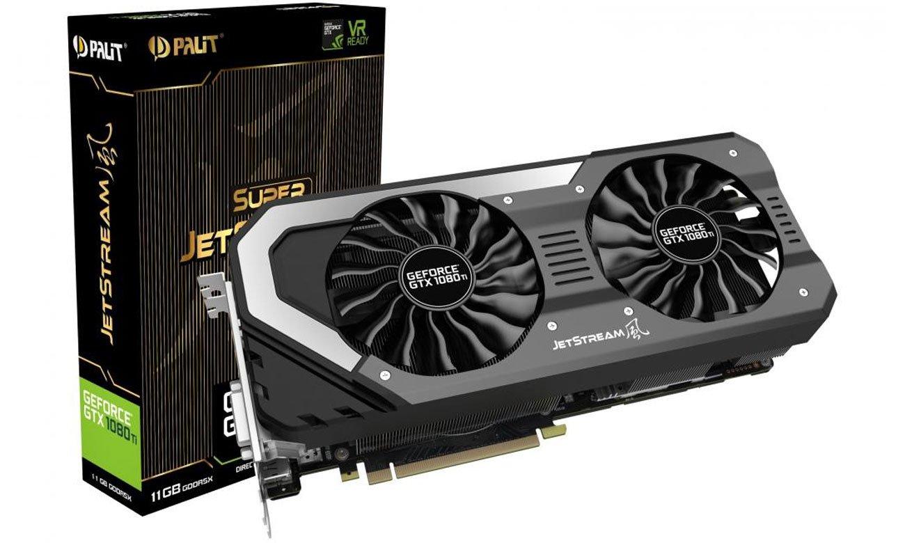 Karta graficzna Palit GeForce GTX 1080 Super JetStream 8GB
