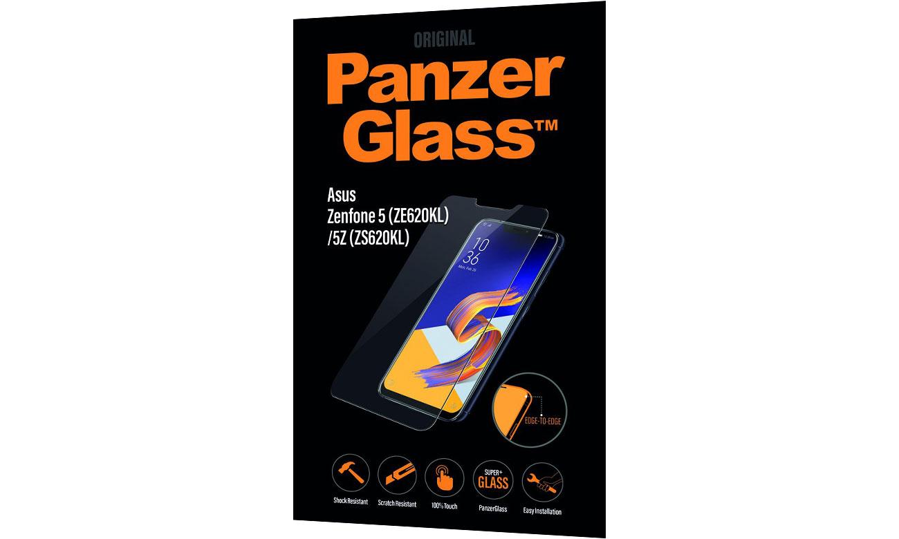 PanzerGlass Szkło Edge do Asus Zenfone 5/5Z 3512 / 5711724035128