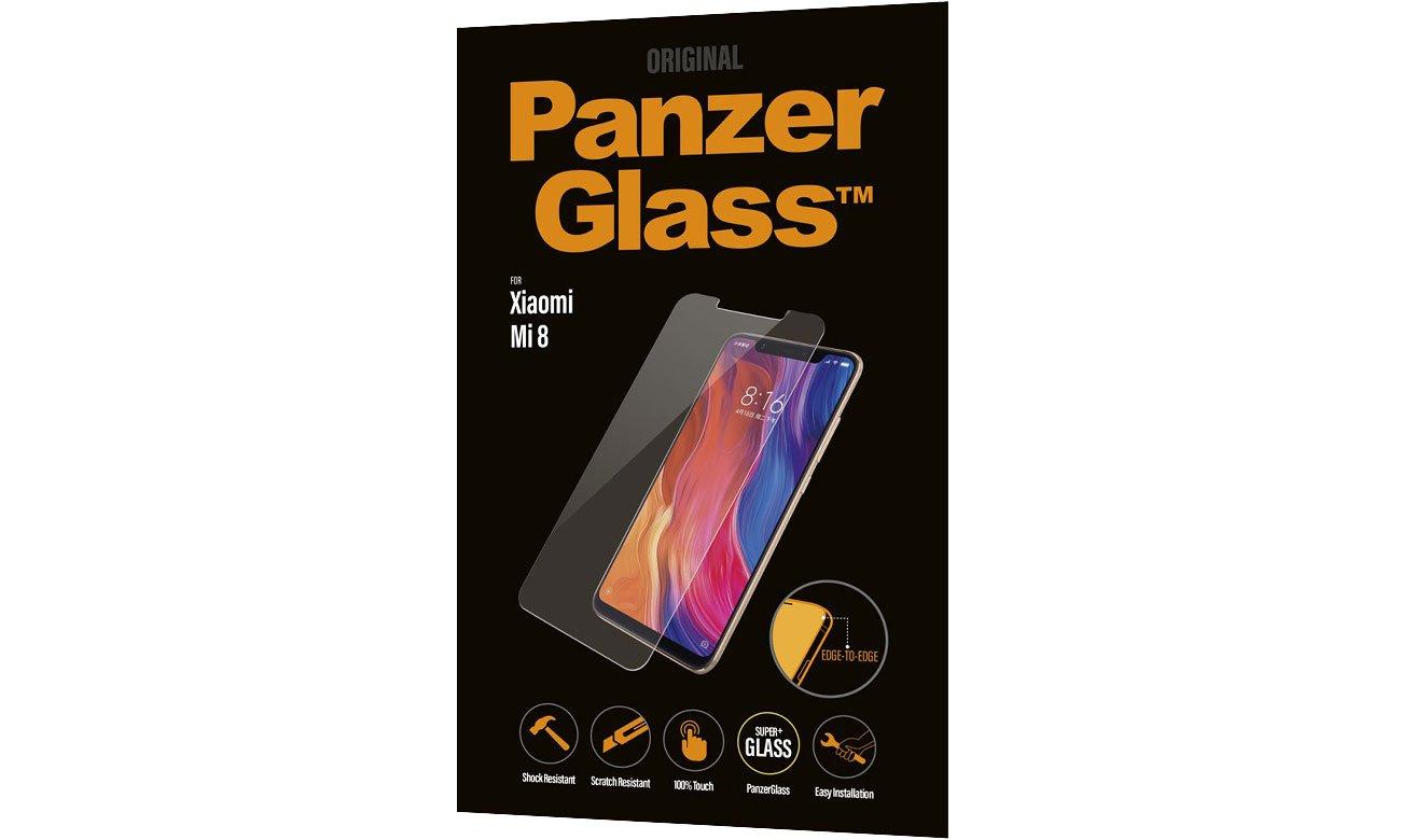 PanzerGlass Szkło Edge do Xiaomi Mi 8 5711724080036 / 8003