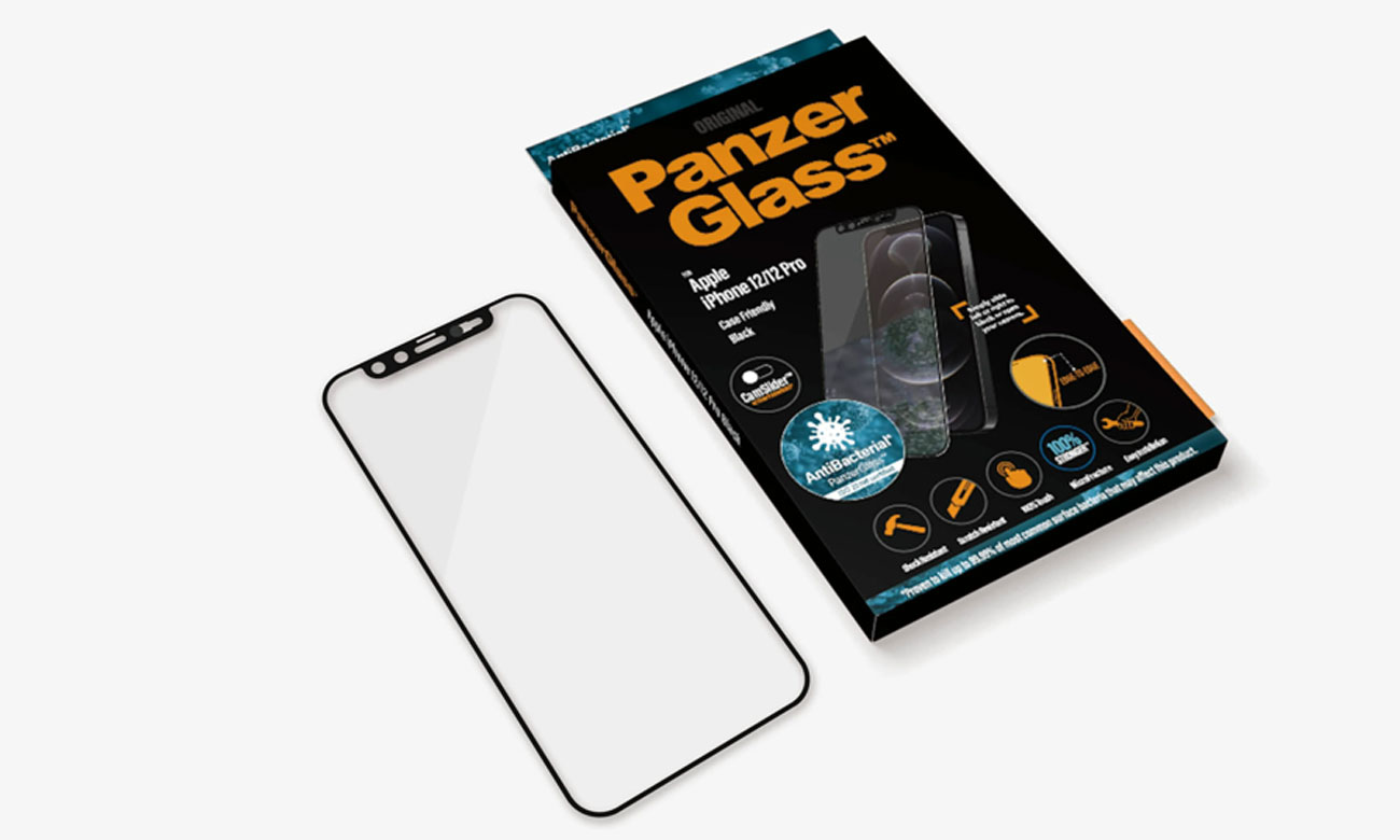 Microfracture PanzerGlass CamSlider do iPhone 12/ 12 Pro