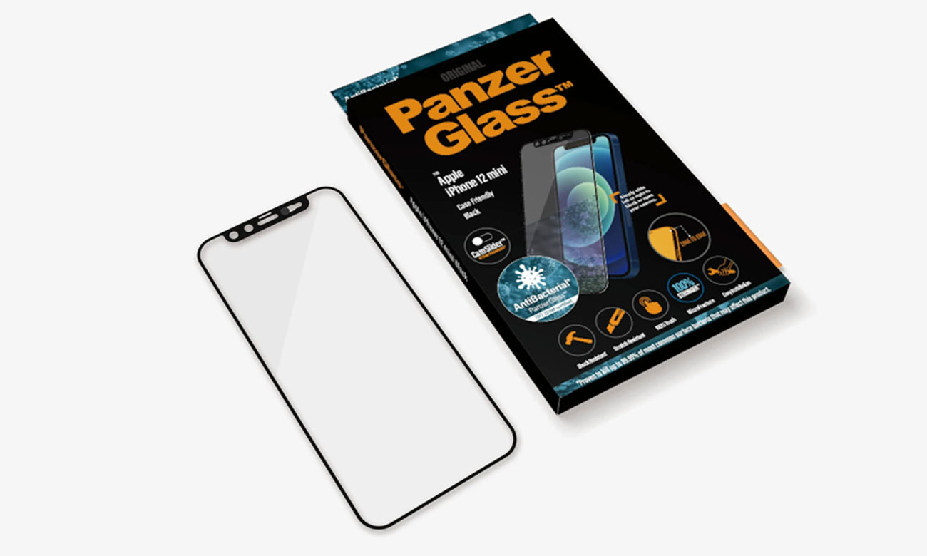Microfracture PanzerGlass CamSlider do iPhone 12 Mini