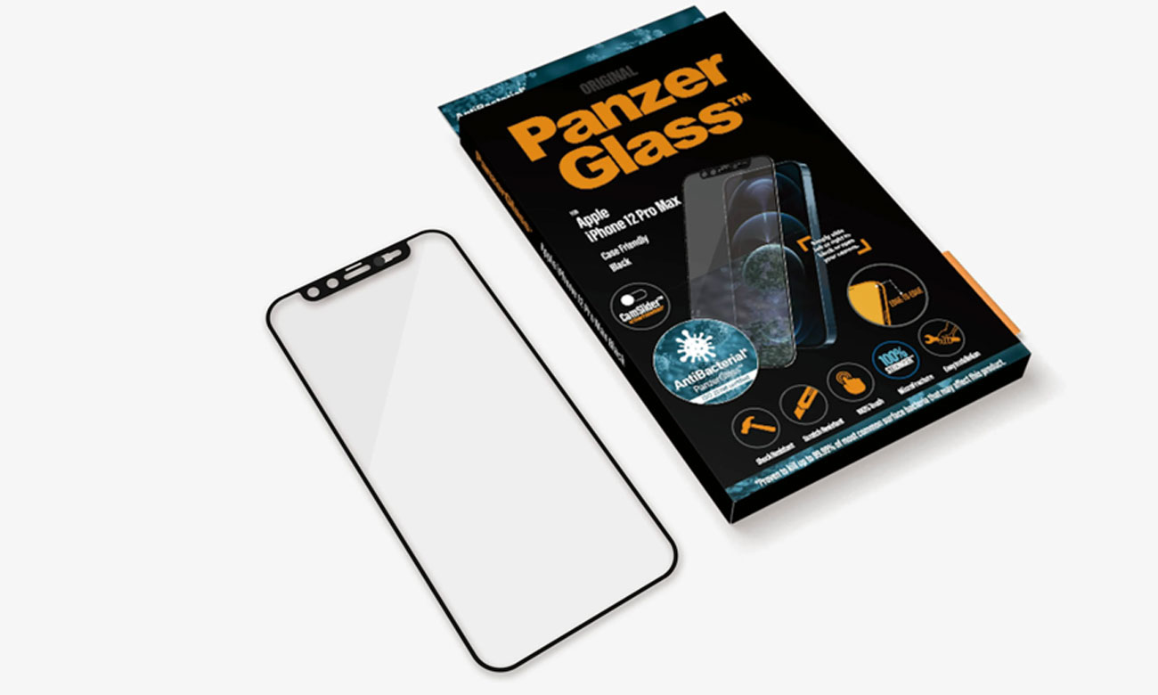 Microfracture PanzerGlass CamSlider do iPhone 12 Pro Max