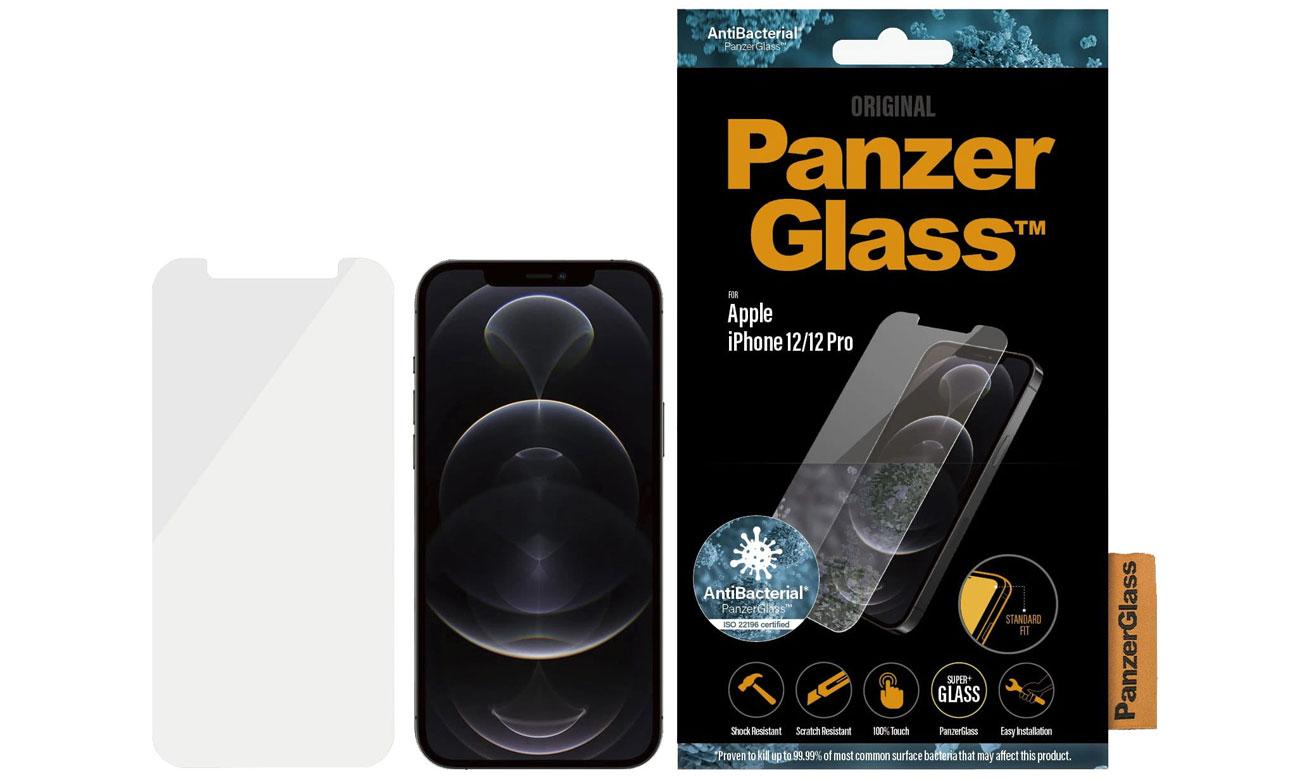 Szkło ochronne PanzerGlass Pro Standard Super+ do iPhone 12/12 Pro