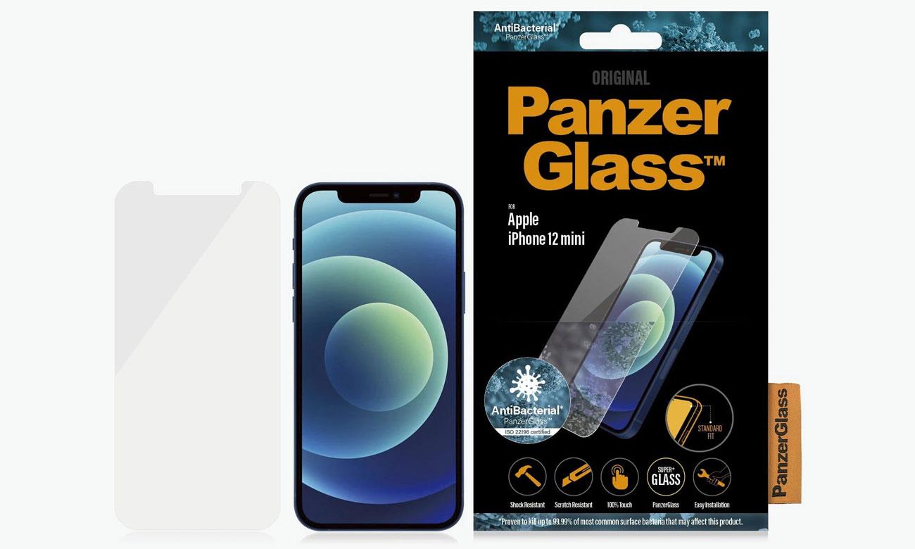 Szkło ochronne PanzerGlass Pro Standard Super+ do iPhone 12 Mini