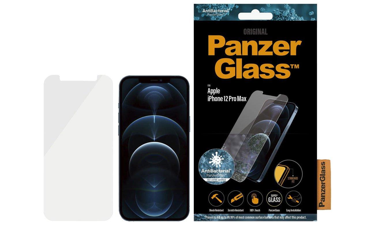 Szkło ochronne PanzerGlass Pro Standard Super+ do iPhone 12 Pro Max
