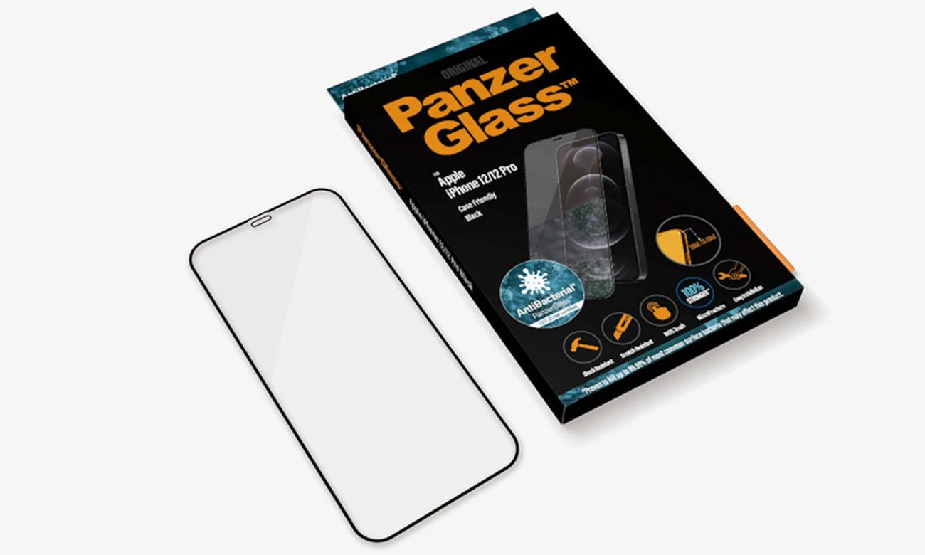 Szkło ochronne PanzerGlass Super+ Case Friendly do iPhone 12/ 12 Pro