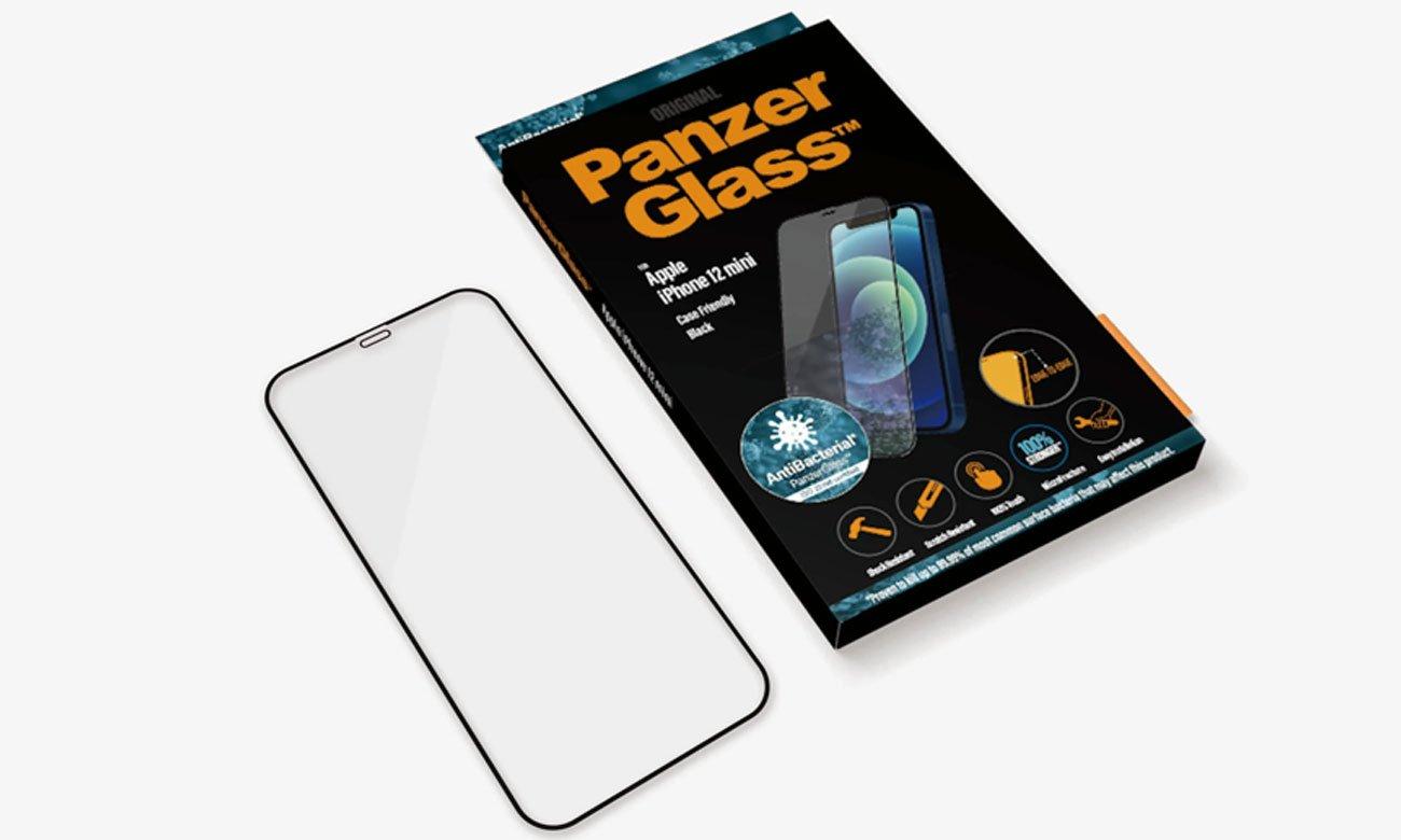 Szkło ochronne PanzerGlass Super+ Case Friendly do iPhone 12 Mini