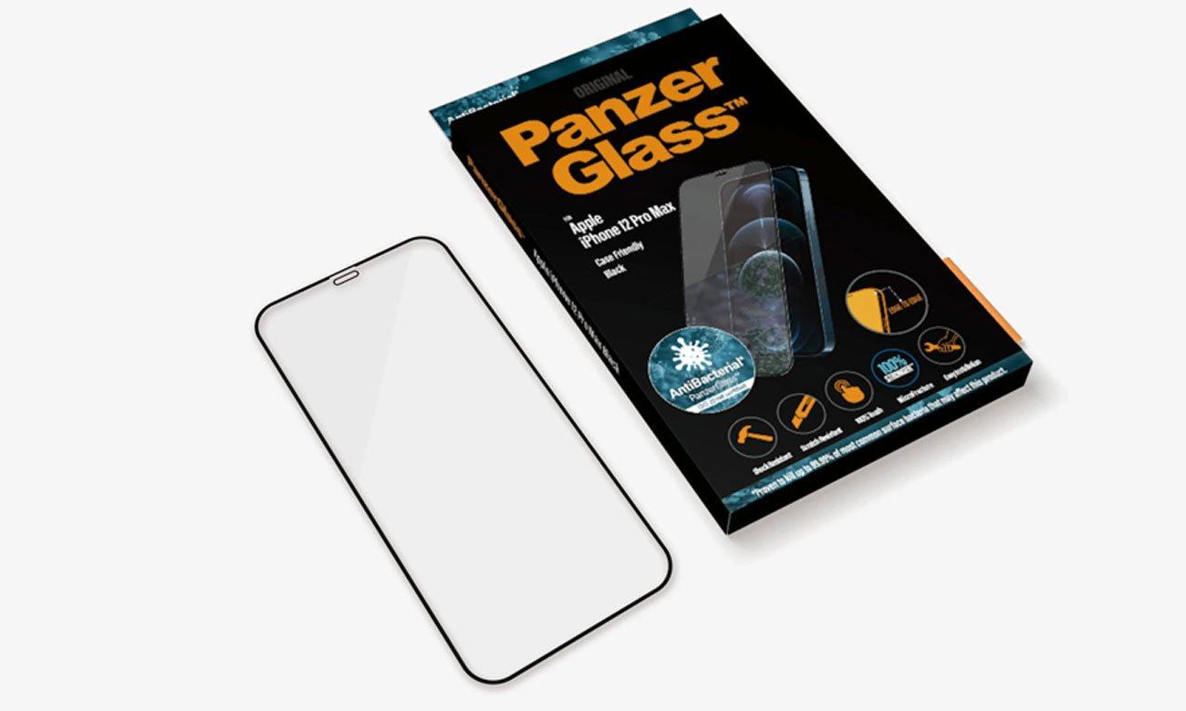 Szkło ochronne PanzerGlass Super+ Case Friendly do iPhone 12 Pro Max