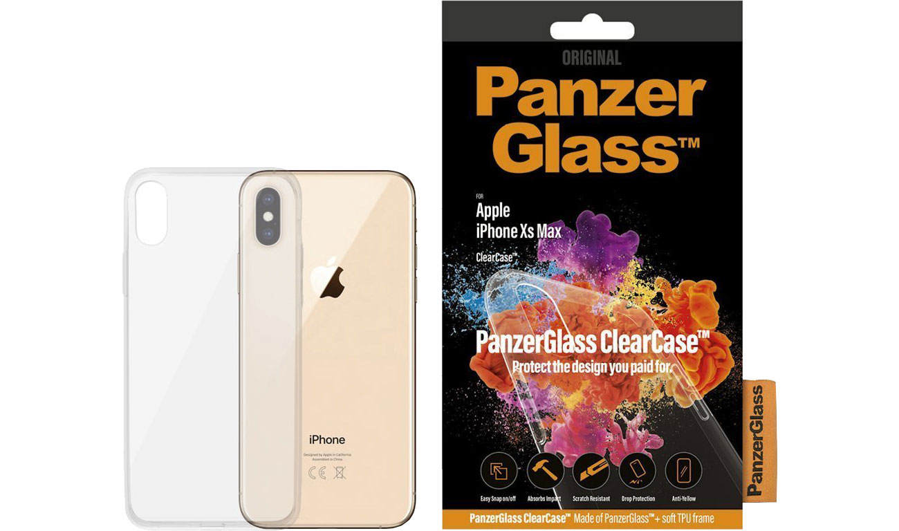 Etui PanzerGlass Clear Case do iPhone Xs MAX 0191 / 5711724001918