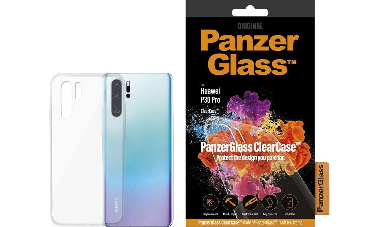 Etui PanzerGlass Clear Case do Huawei P30 Pro 0200 / 5711724002007