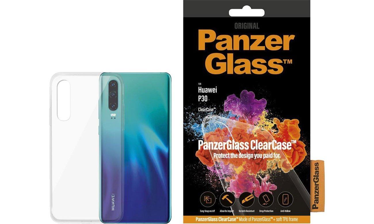 Etui PanzerGlass Clear Case do Huawei P30 0198 / 5711724001987
