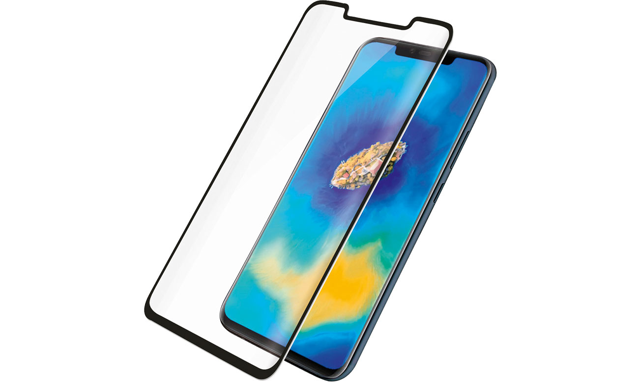 PanzerGlass Szkło Curved Edges do Huawei Mate 20 Pro Black 5324 / 5711724053245