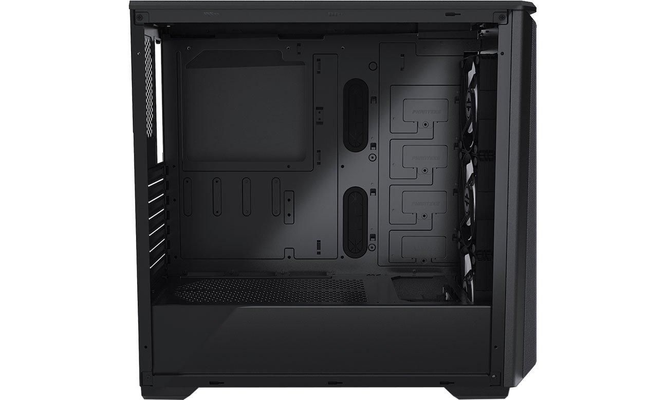 Phanteks Eclipse P400A  Digital Black - Wnętrze
