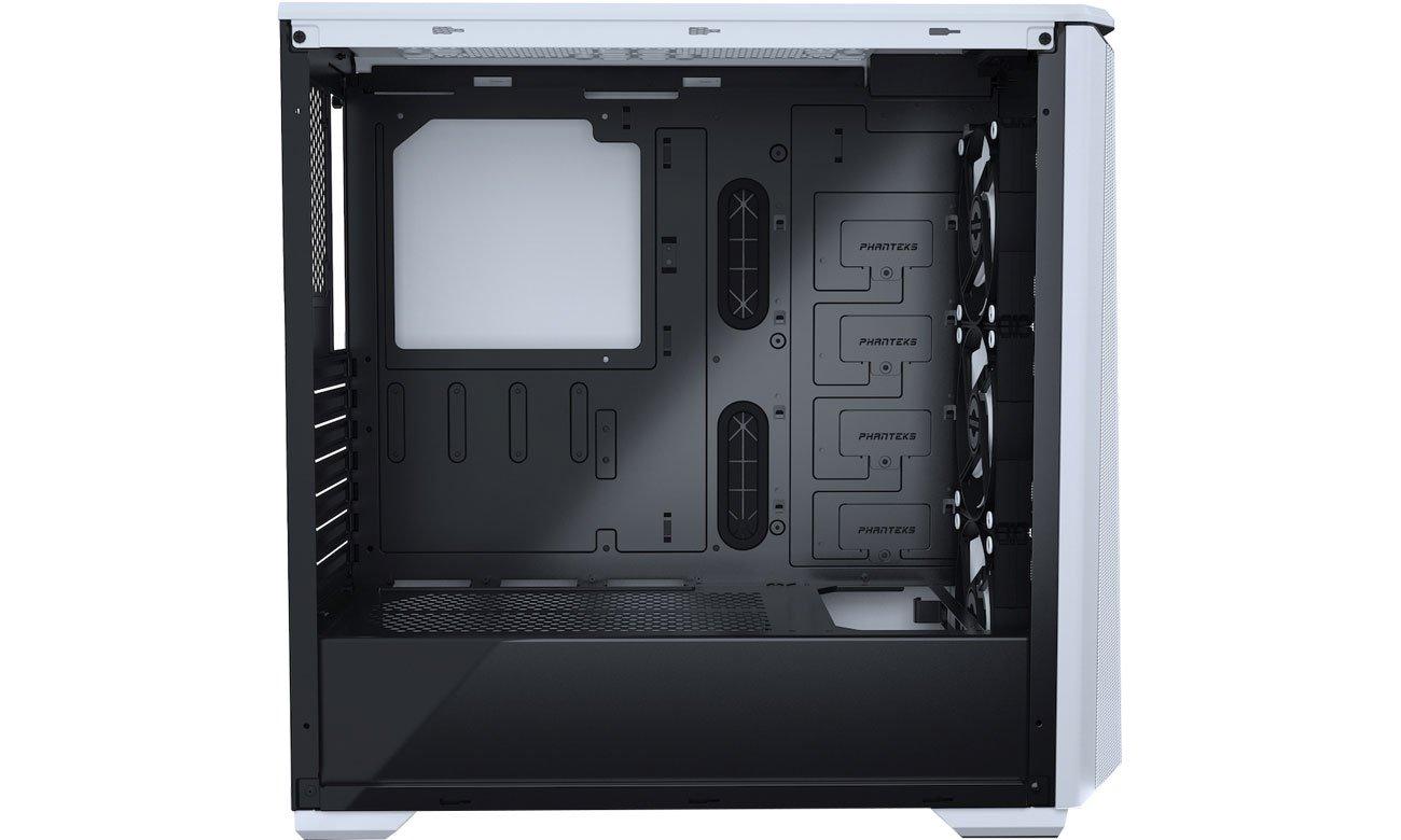 Phanteks Eclipse P400A Digital White - Wnętrze