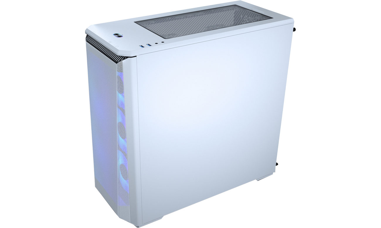 Phanteks Eclipse P400A  Digital White - Konstrukcja