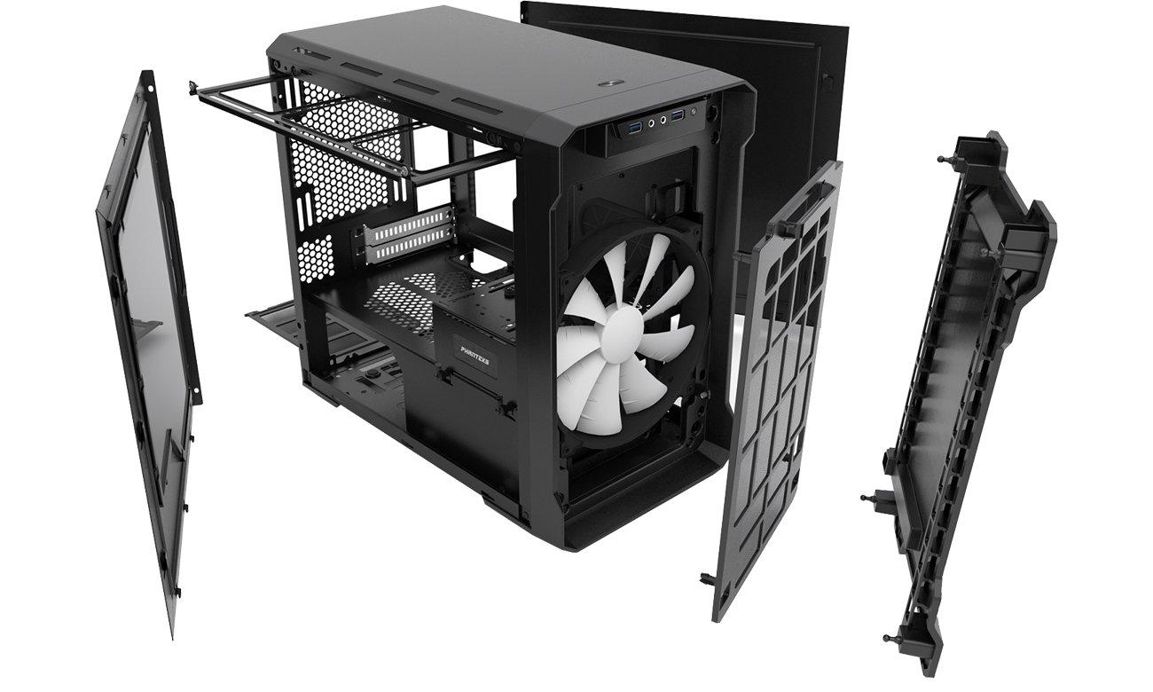 Phanteks Enthoo Evolv Mini-ITX chłodzenie