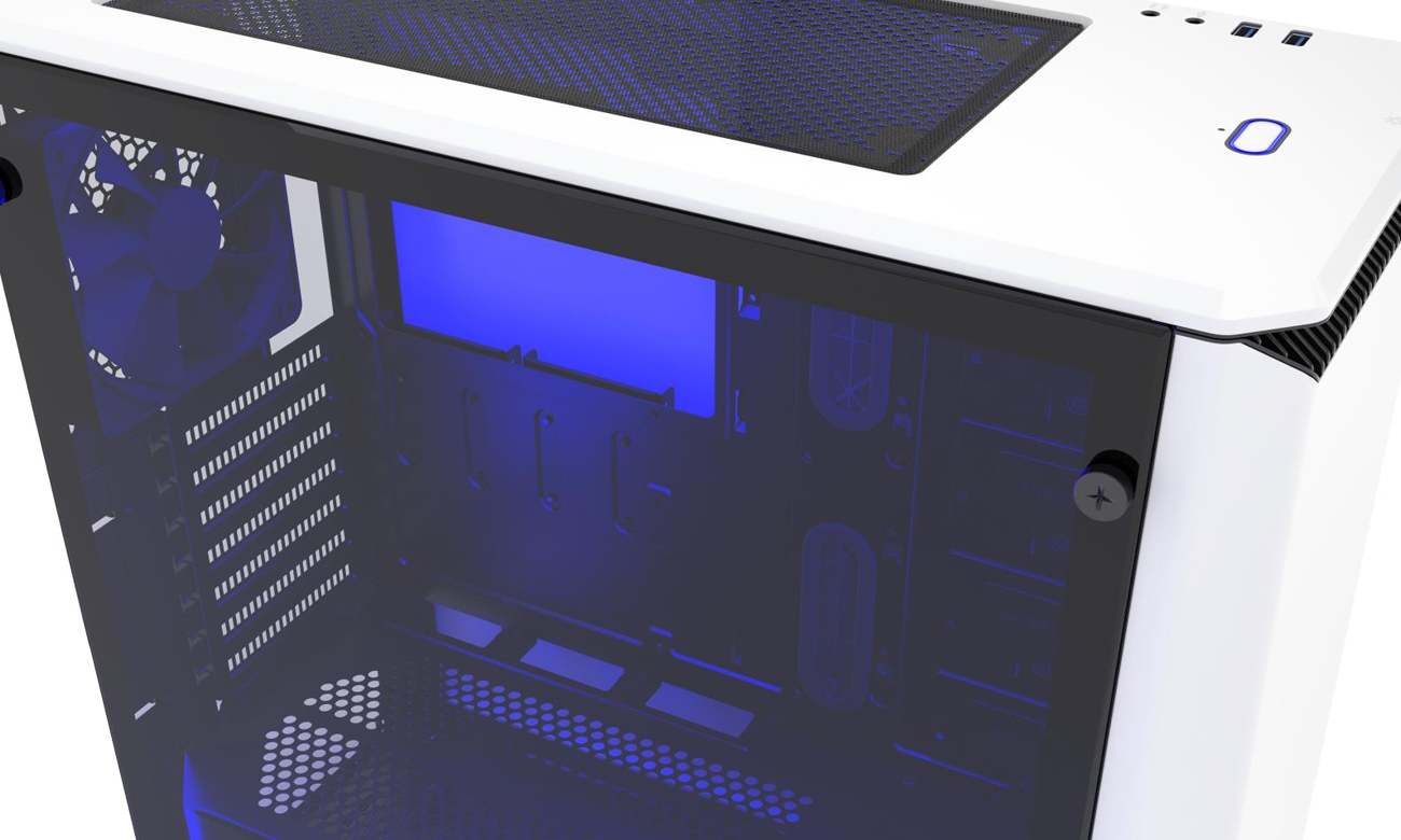 Phanteks Eclipse P400 Tempered Glass okno