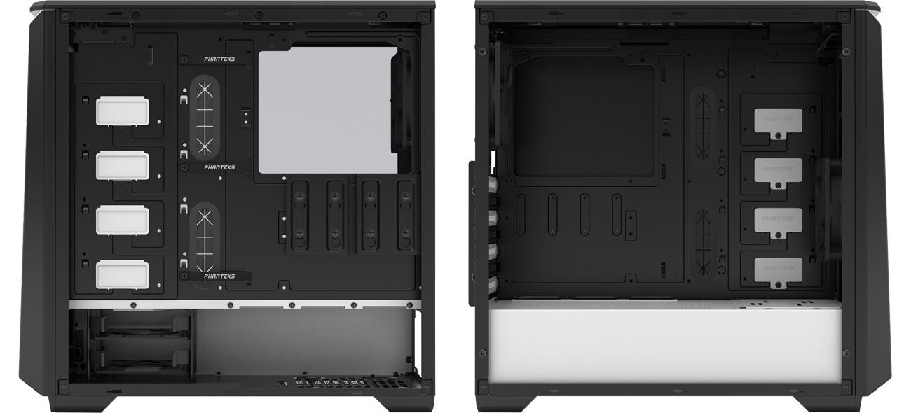 Phanteks Eclipse P400 wnętrze