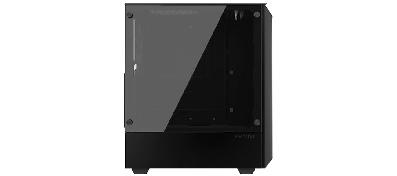 Phanteks Eclipse P300 czarna Panel ze szkła hartowanego