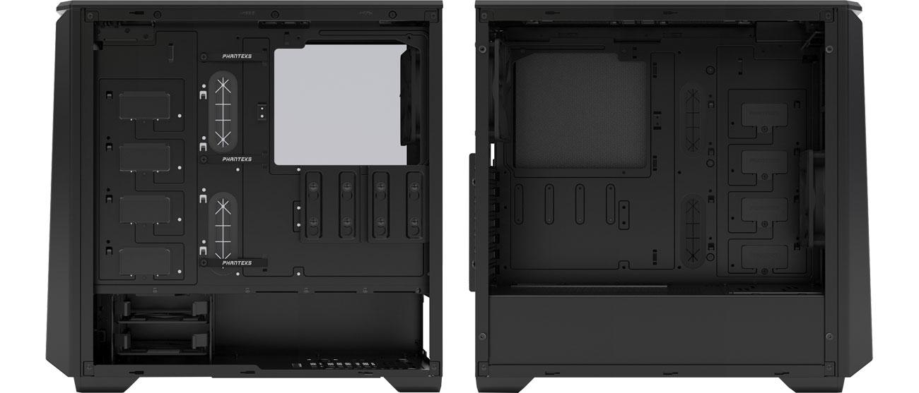 Phanteks Eclipse P400S TG (czarny) - Wnętrze