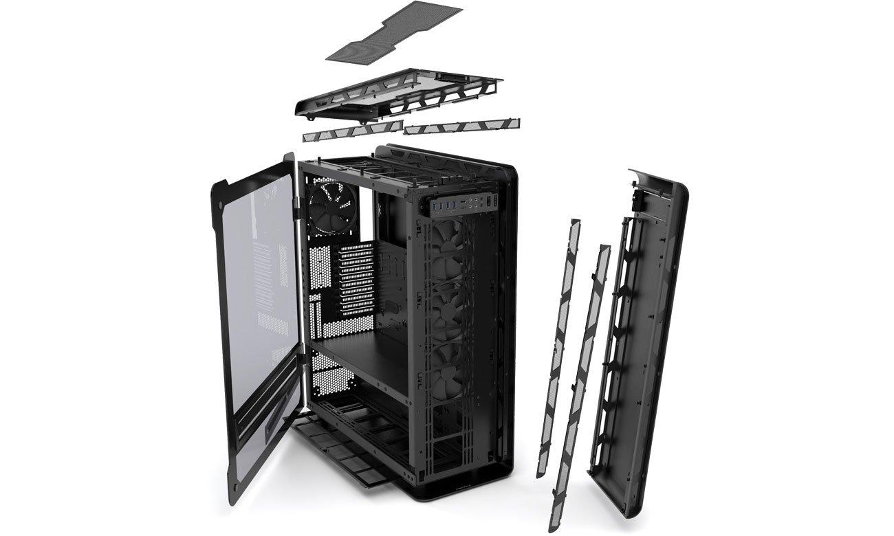 Phanteks Enthoo Elite PH-ES916E System chłodzenia, wentylatory