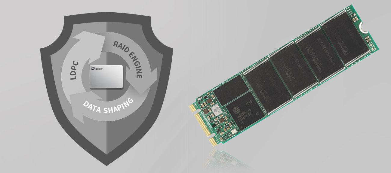 Dysk SSD Plextor 256GB M.2 2280 SSD M8VG Wbudowany mechanizm LDPC