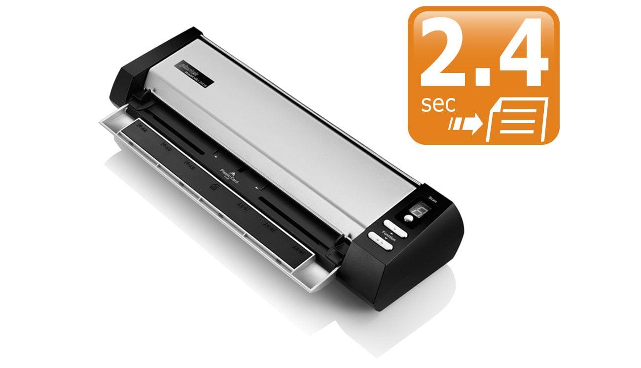 Plustek MobileOffice D430 Szybkość Skanowania