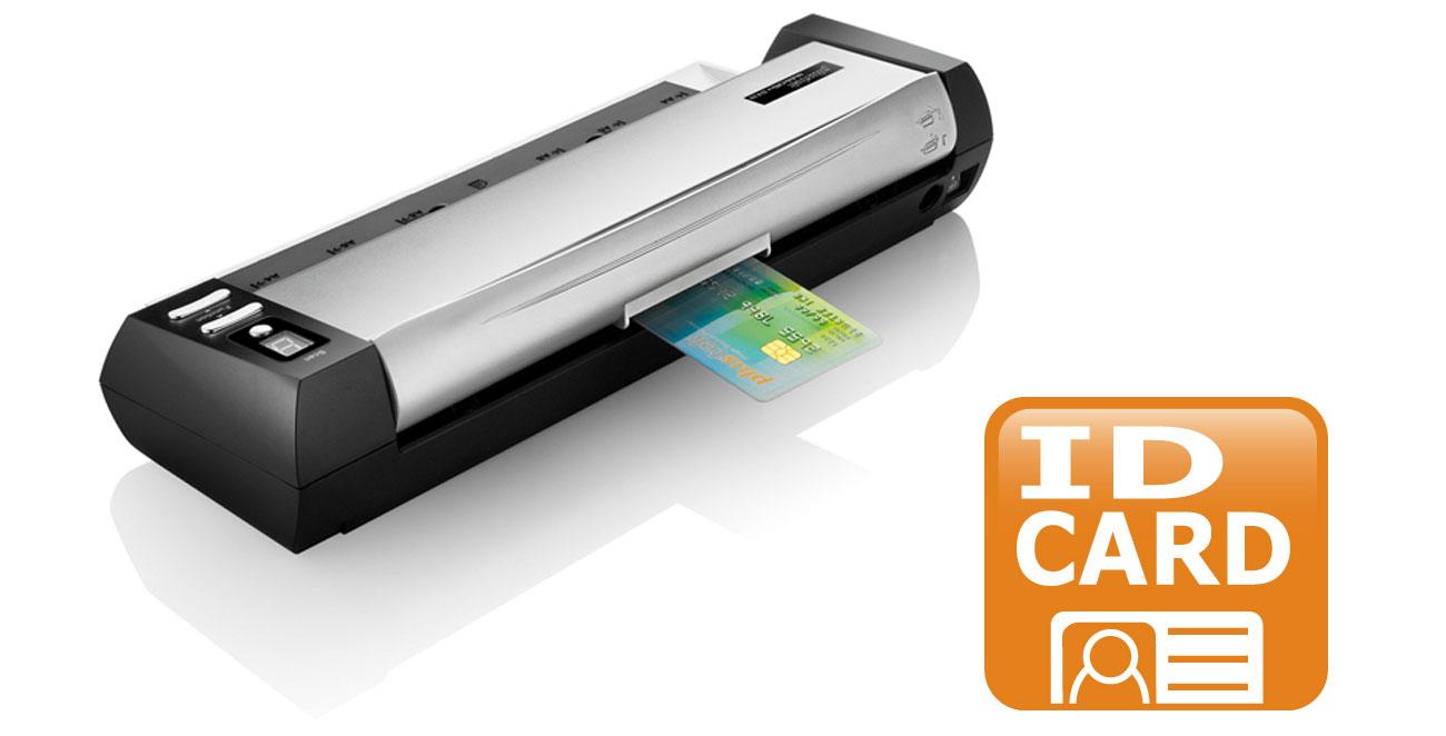Plustek MobileOffice D430 Skanowanie kart Plastikowych