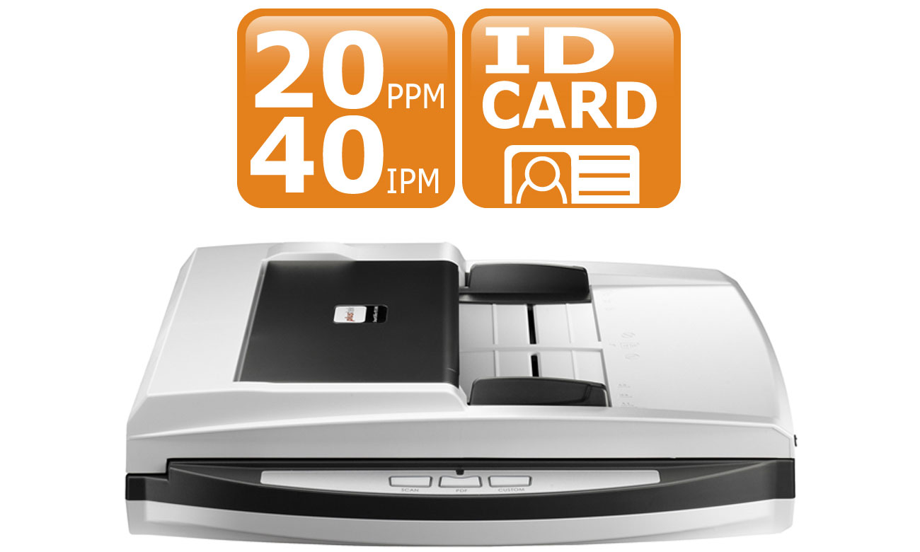 Plustek SmartOffice PN2040 Szybkość Skanowania