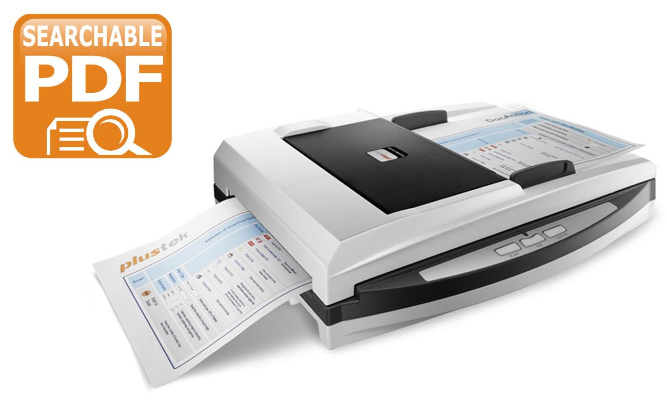 Plustek SmartOffice PN2040 Zapisywanie Do Wielu Formatów