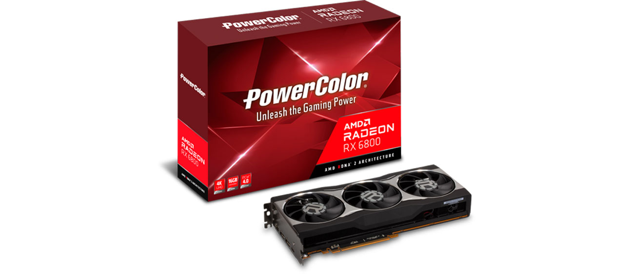 Karta graficzna AMD PowerColor Radeon RX 6800 16GB GDDR6 AXRX 6800 16GBD6-M2DHC