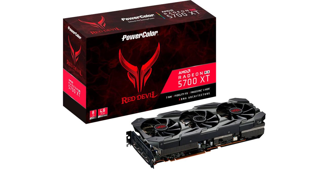 Karta graficzna AMD PowerColor Radeon RX 5700 XT Red Devil 8GB GDDR6