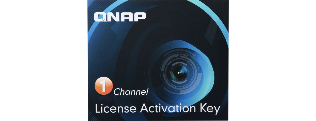 Licencja NVR na kamery QNAP Licencja Camera License Pack (1 dodatkowa kamera) LIC-CAM-NAS-1CH