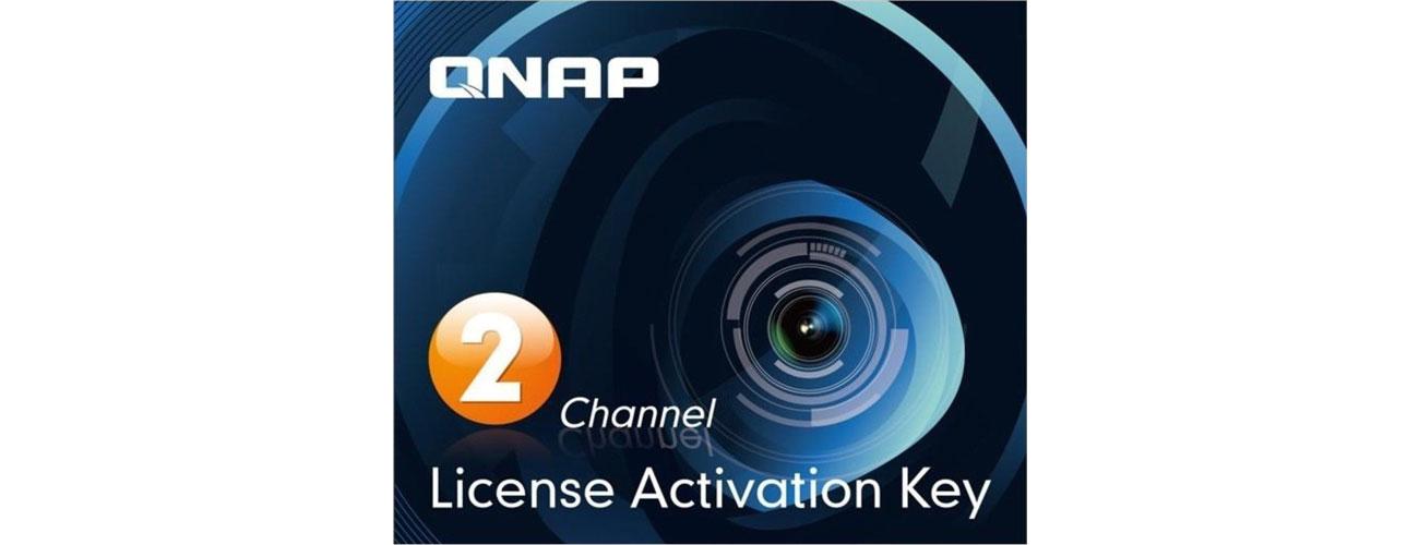 Licencja NVR na kamery QNAP Licencja Camera License Pack (2 dodatkowe kamery) LIC-CAM-NAS-2CH