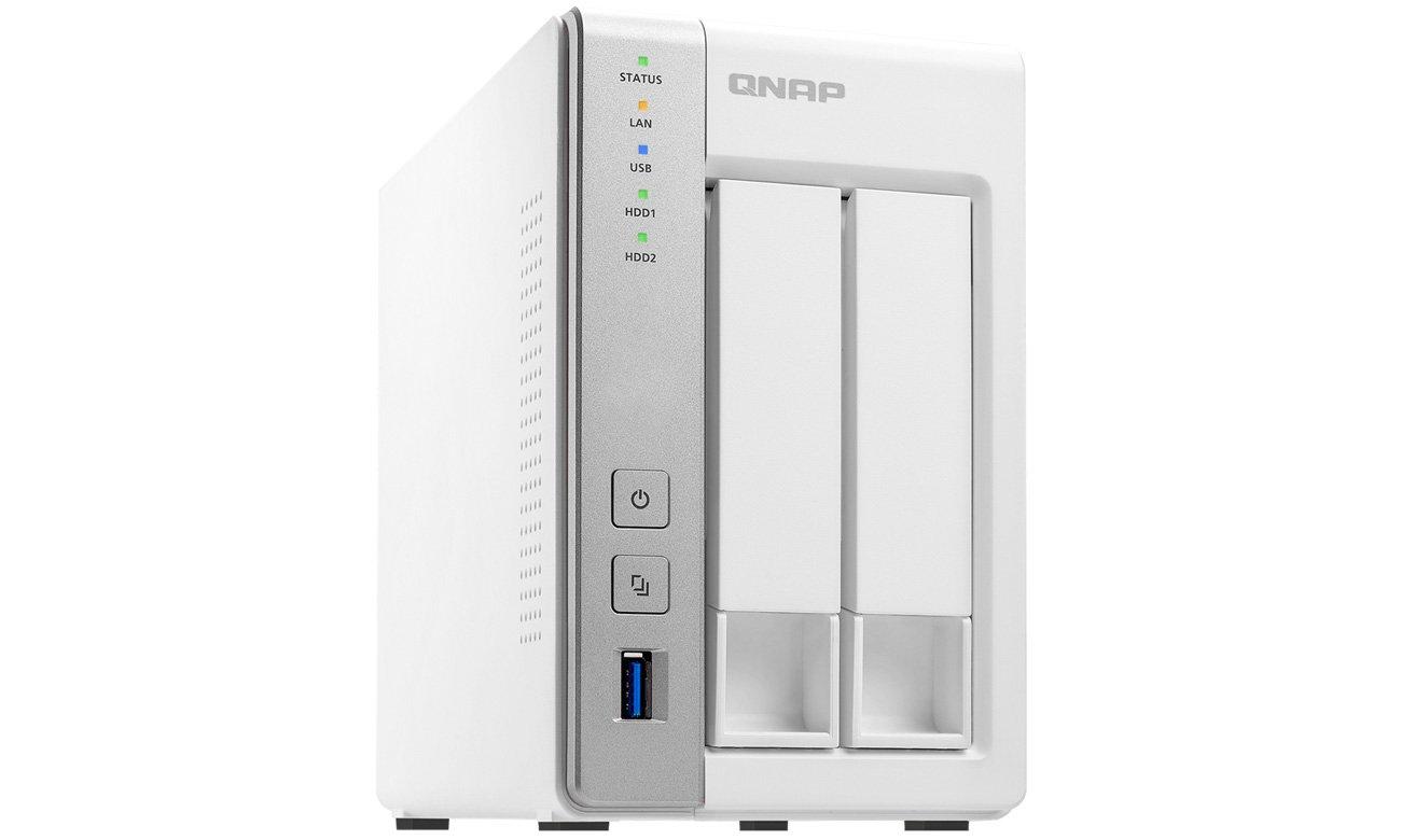 QNAP TS-231+ - monitoring