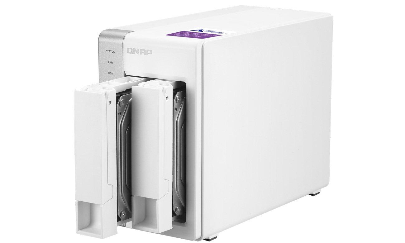 QNAP TS-231+ - Bezpieczeństwo danych
