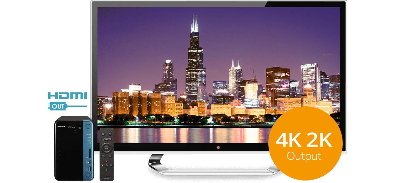 QNAP TS-253B-8G HDMI 4K