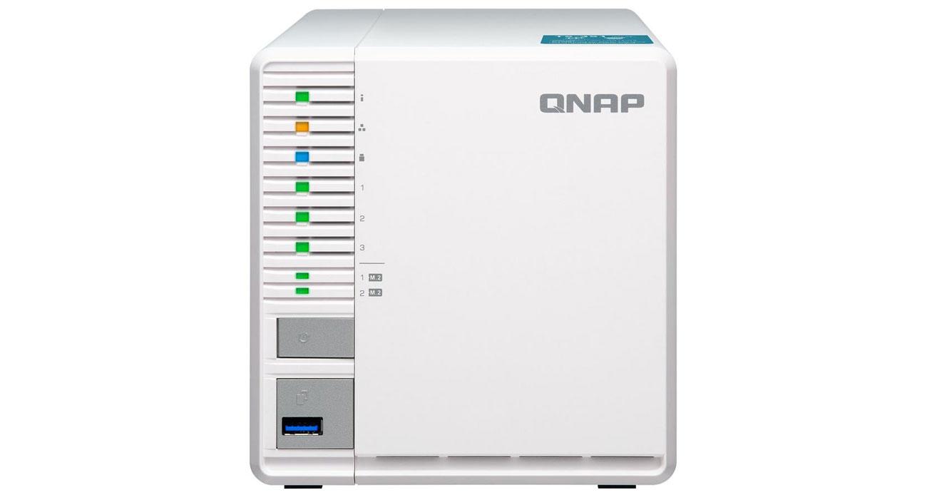 Serwer QNAP TS-351-2G + 9TB