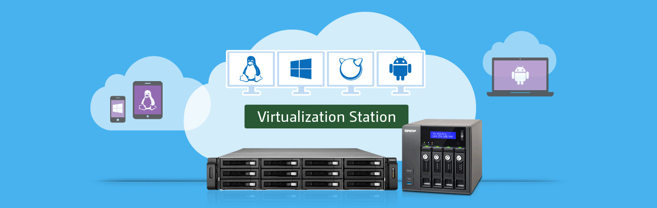 Serwer QNAP TS-351-4G - Virtualization Station