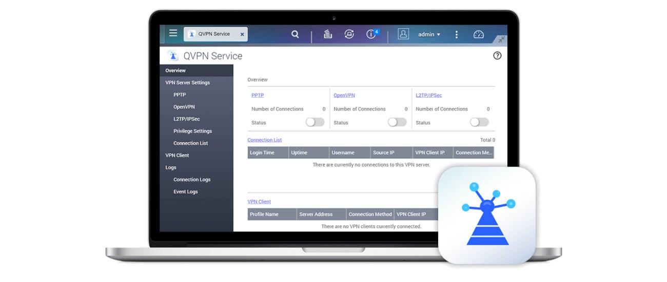 QNAP TS-431X2-2G VPN