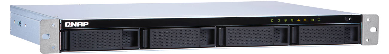 Dysk sieciowy/macierz QNAP TS-431XeU-8G 4xHDD, 4x1.7GHz, 8GB, 4xUSB, 3xLAN TS-431XeU-8G RACK