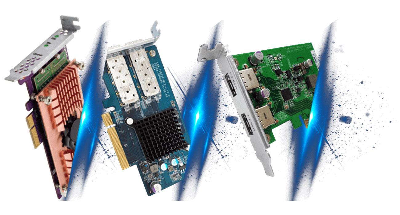 Serwer NAS QNAP TS-432XU Gniazdo PCI Express