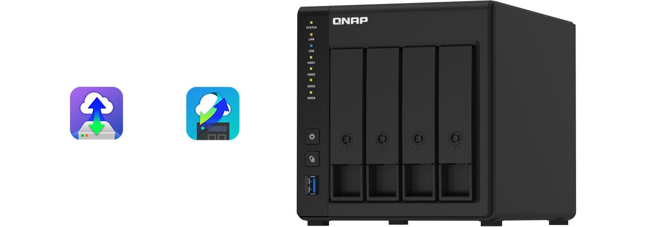 QNAP TS-451D2 - Integracja w chmurze