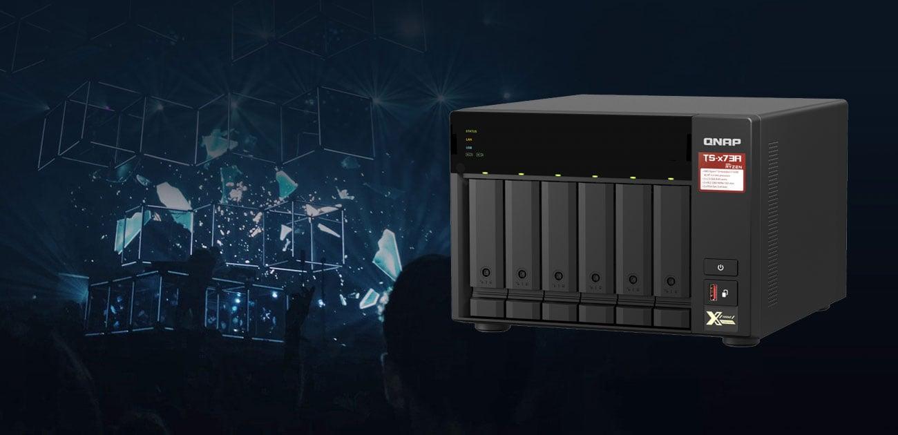 QNAP TS-673A-8G - Backup